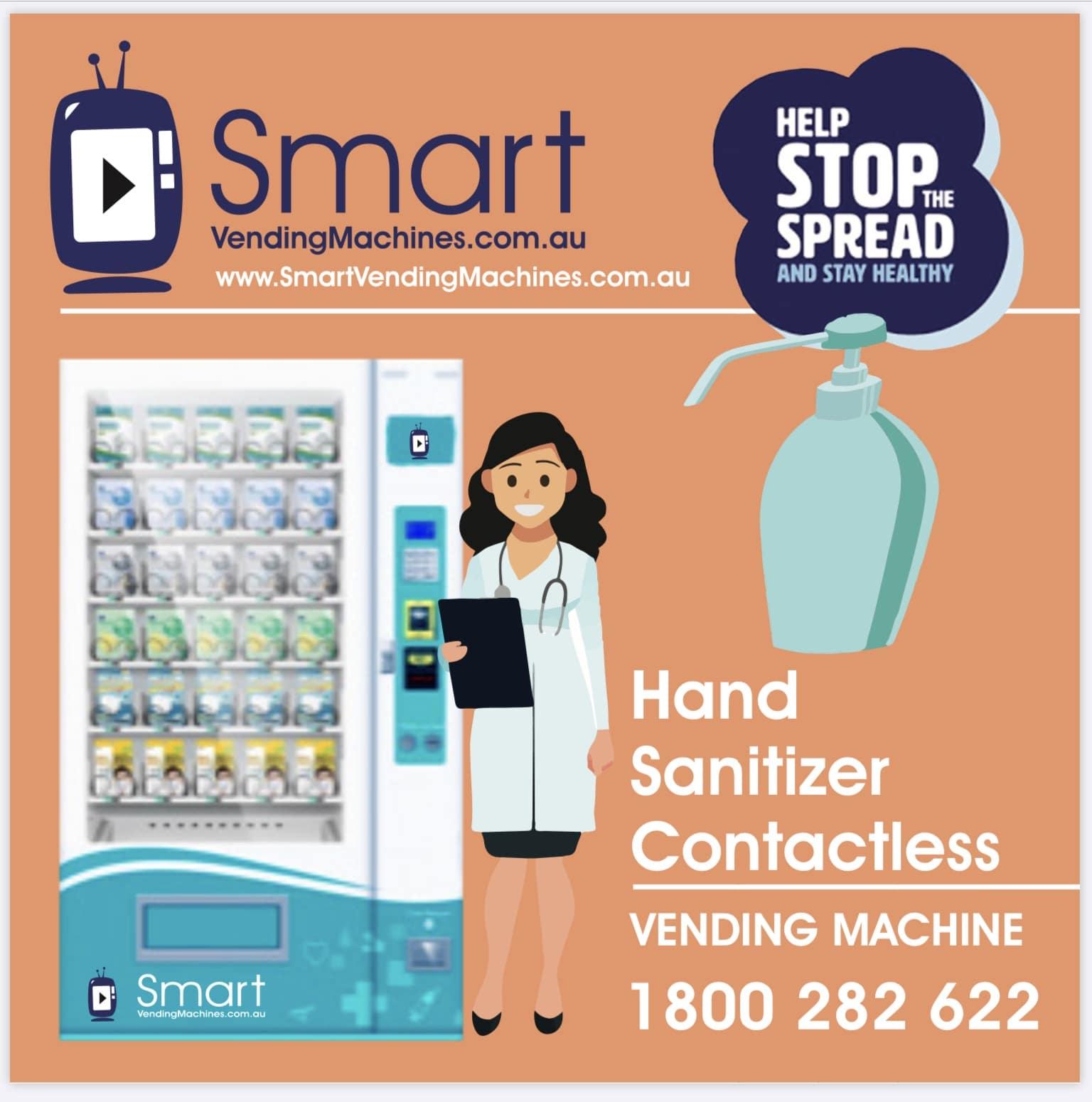 hand gel vending machine